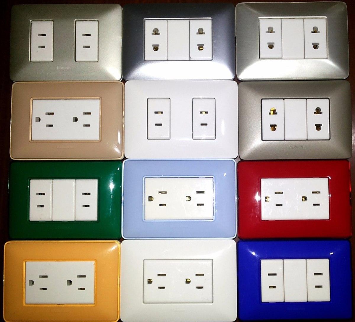 Tomacorrientes interruptores originales variedad estilos - Precio de enchufes ...