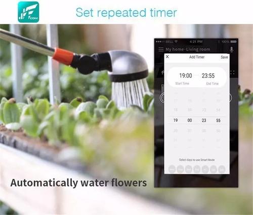 tomada inteligente smart wifi b2 jwcom alexa e google home