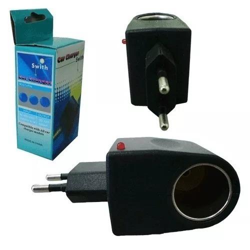 tomada veicular 12v para casa adaptador bi volt 220v 110v
