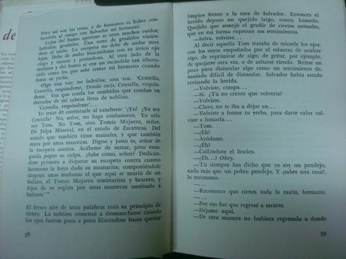 tomas mojarro, cañón de juchipila, f.c.e., méxico, 1960, 281