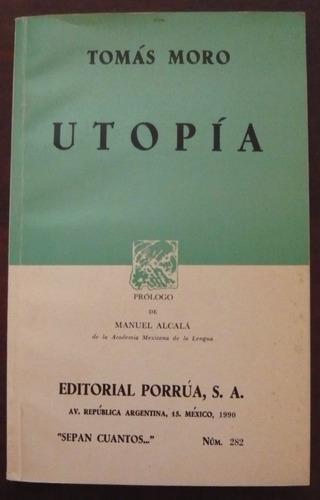 tomás moro - utopía - porrúa