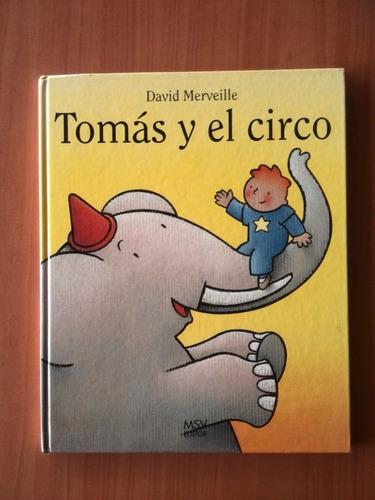 tomás y el circo cuento infantil david merveille