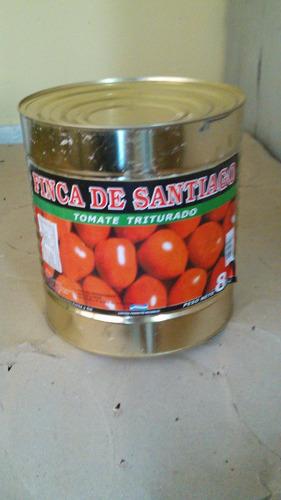 tomate triturado lata x 8kg y botella de 1 x 8