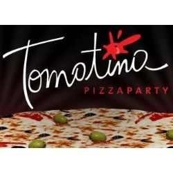 tomatina pizza party - a la piedra - catering para eventos