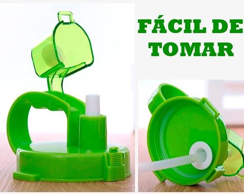 tomatodo botella policarbonato enjoy life 2 litros l - isc