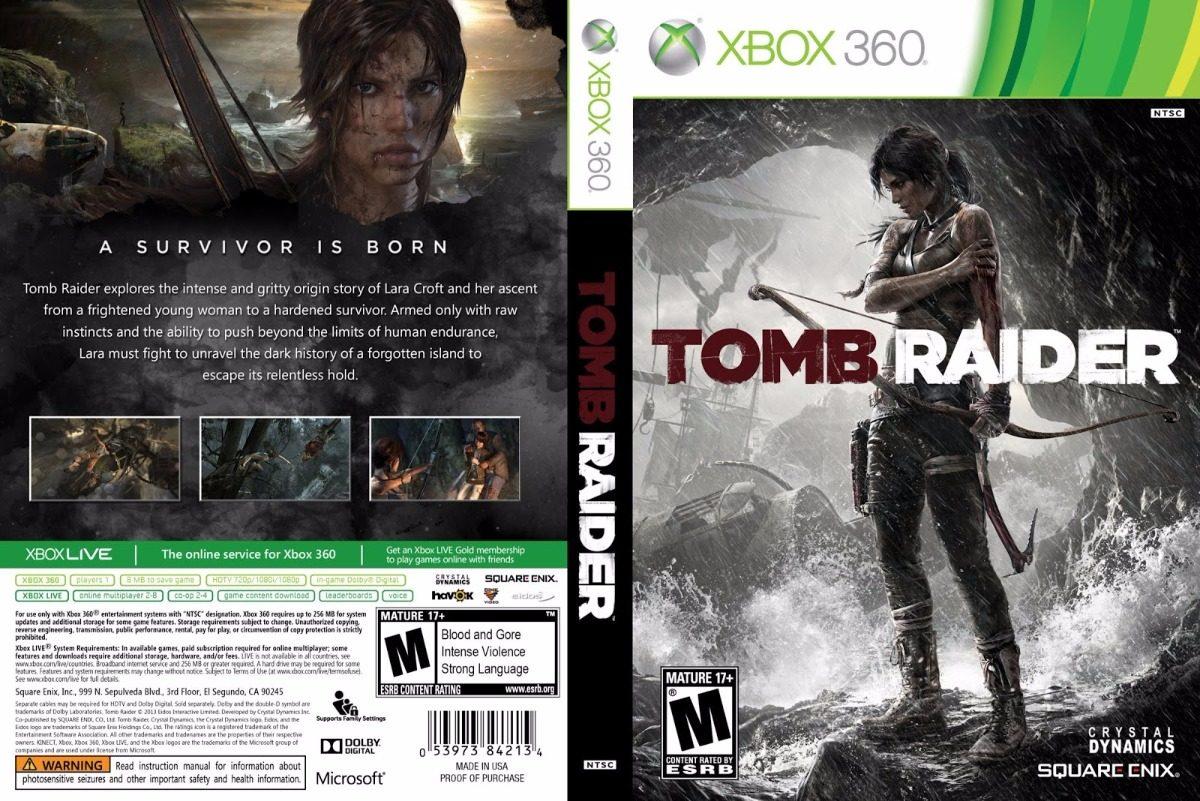 Xbox 360 Games 2013 : Tomb raider xbox desbloqueio lt mídia