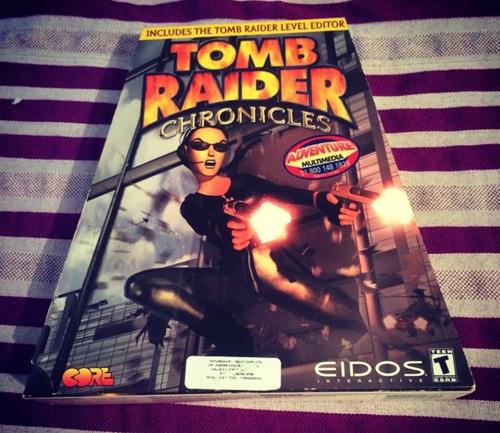 tomb raider 5 chronicles pc caja pirámidepiramide