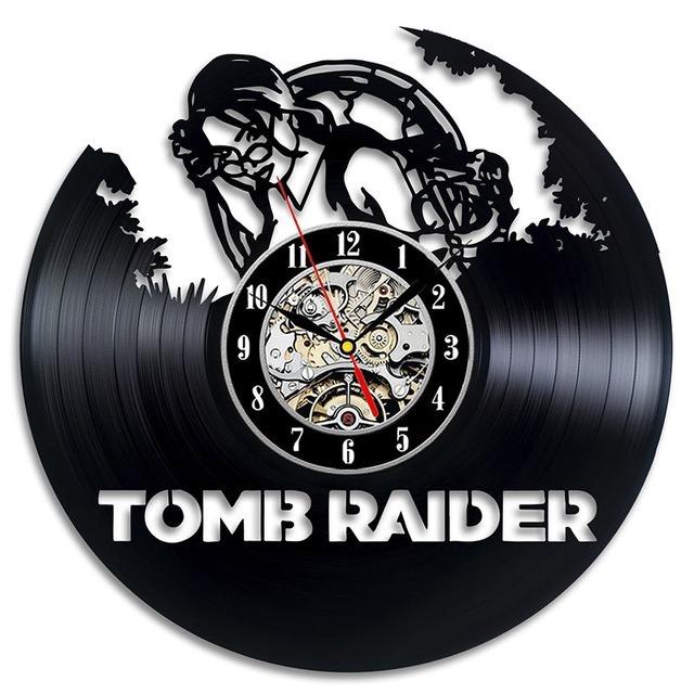 b332a8c1e42 Tomb Raider A Origem - Relógio De Parede - R  39