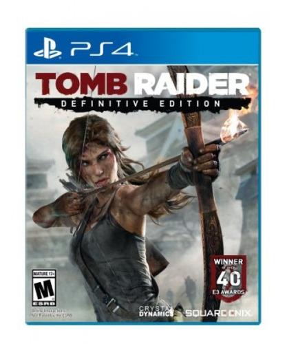 tomb raider: definitive edition - playstation 4