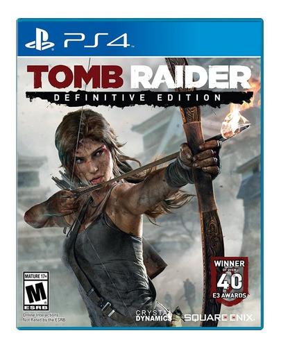 tomb raider definitive edition - ps4 fisico nuevo & sellado