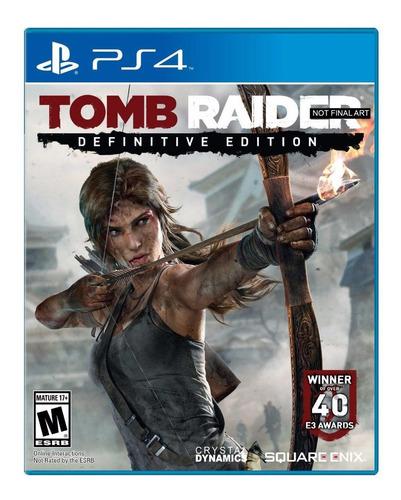 tomb raider definitive edition ps4 fisico sellado env gratis