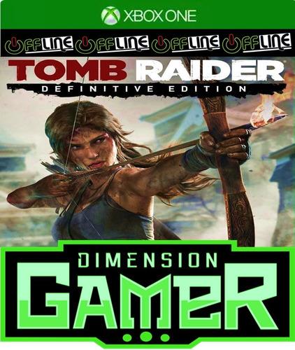 tomb raider: definitive edition xbox one no codigo off-line