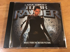 Tomb Raider Lara Croft Soundtrack Cd Banda Sonora U2 Us 2001