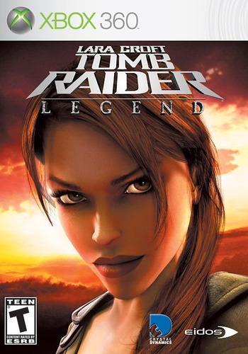 tomb raider legend aniversario xbox 360 no pagar envío