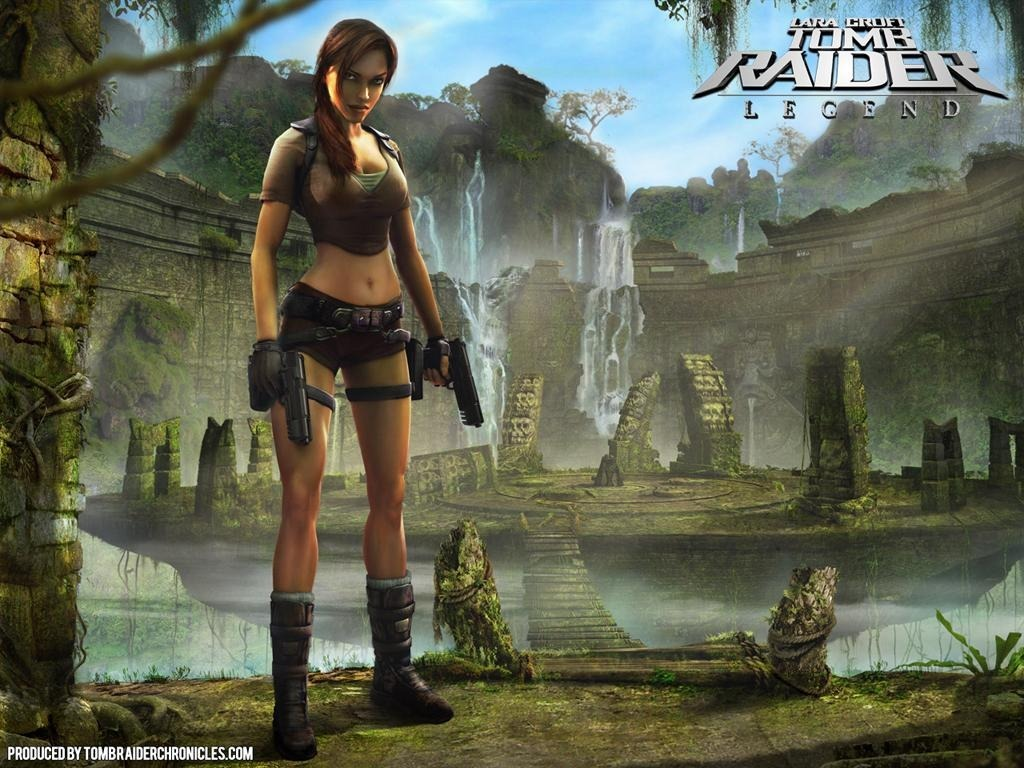Tomb Raider Legend Ps2 Lara Croft Patch Me R 11 24 Em