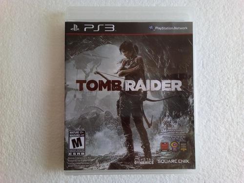 tomb raider para ps3 original