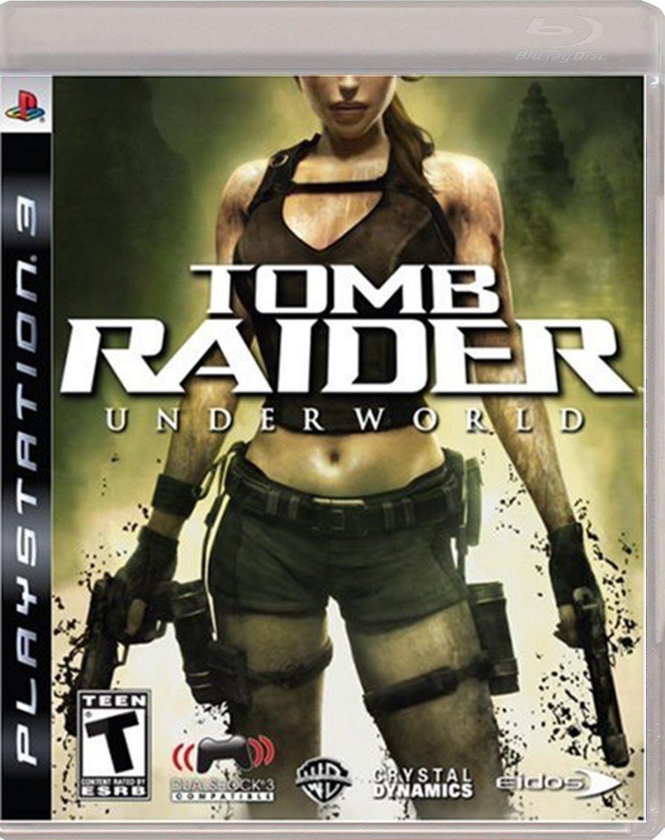 TOMB RAIDER UNDERWORLD PS3 SEMINUEVO