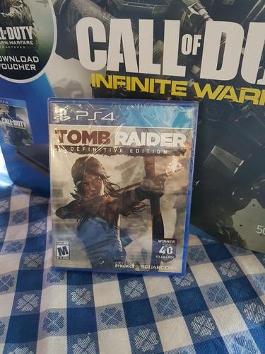 tomb rider definitive  edition  sellado juego de ps4
