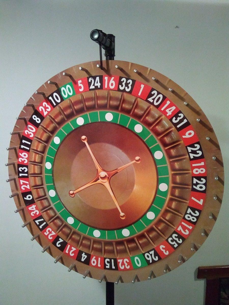 Tombola Ruleta Para Kermesse Juegos Azar 6 500 00 En Mercado Libre