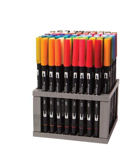 tombow 56149 pincel doble pluma arte marcadores, 96 set colo