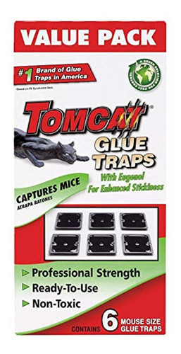 tomcat mouse size glue traps, 18-pack