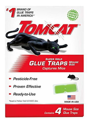 tomcat super hold glue traps mouse size -