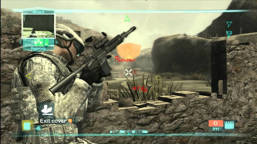 tomclancy ghost recon advanced warfighter  2 juegodigitalps3