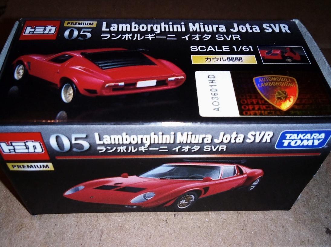 Tomica Lamborghini Miura Japan Svr Premium 1 61 1 350 00 En