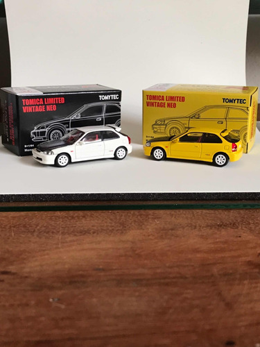 tomica limited vintage neo 2 honda civic type r (1997/1999)