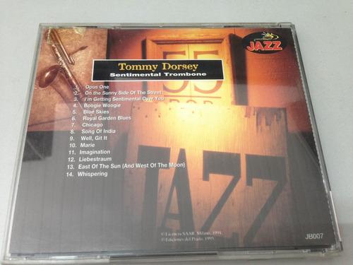 tommy dorsey sentimental trombone - cd (1635)