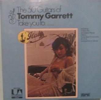 tommy garrett - take you to italy - 1974