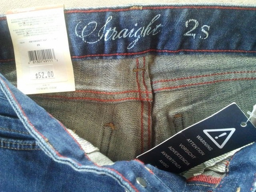 tommy h jeans clasico bota derecha talla 24  100%orig cod580