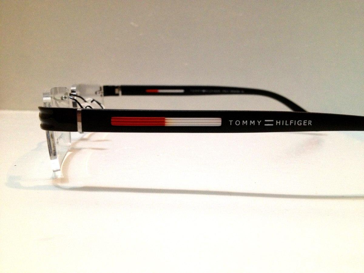 ac9a61ad4bebc Armação De Óculos Tommy Hilfiger Sem Aro - R  129,00 em Mercado Livre