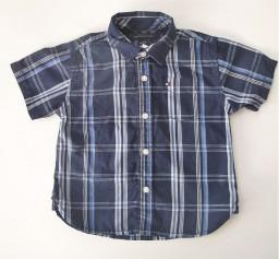 Tommy Hilfiger Bebê Camisa Xadrez Azul Marinho 18 Meses!! - R  119 ... b5899e2b905