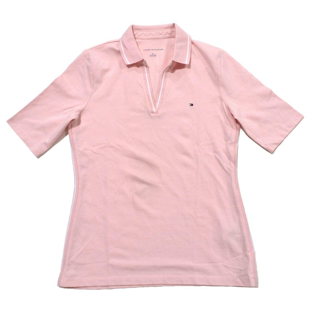 d68ebeabdd9 tommy hilfiger blusa tipo polo en v 100% original talla xl. Cargando zoom.