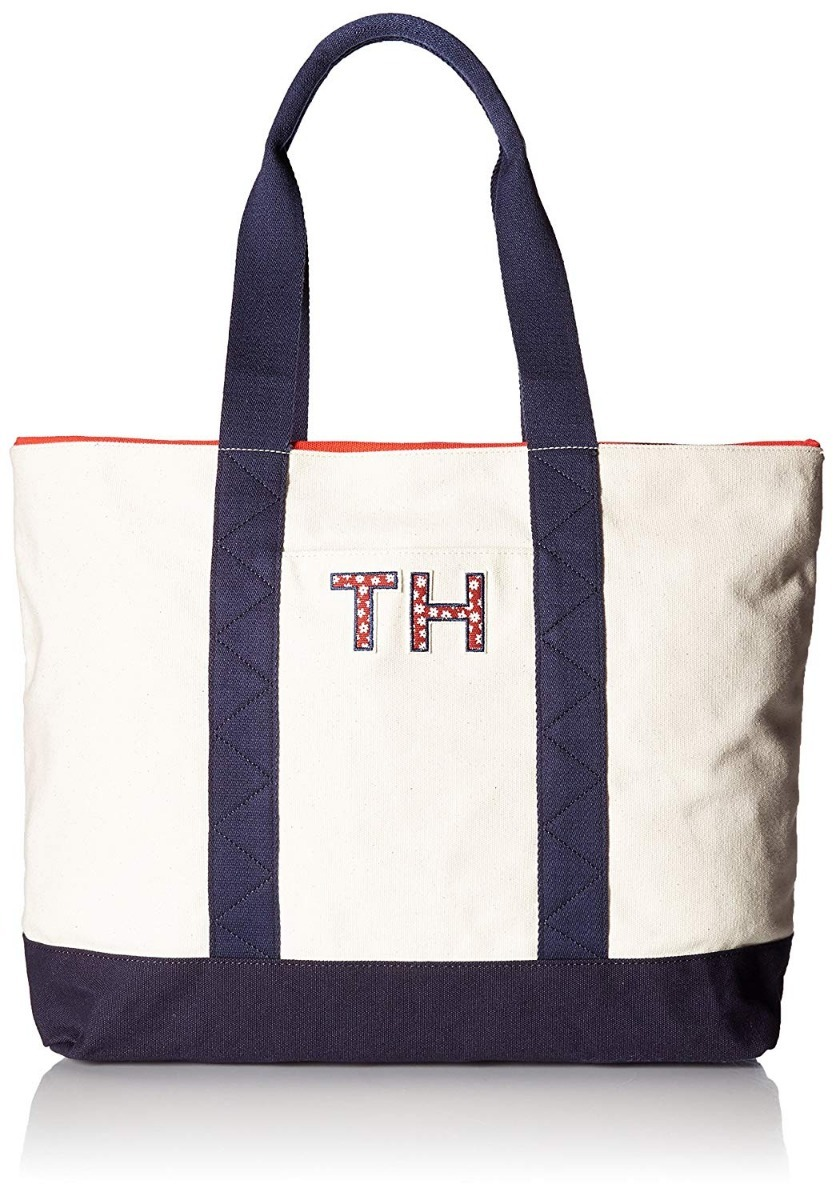 hombro bolso hilfiger Cargando canvas mujer de tote pam zoom tommy wRq5tdR caf627abe7ed2