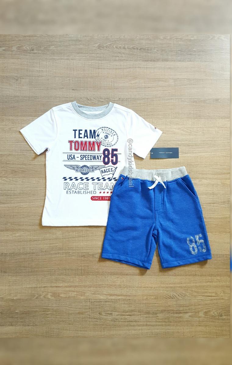 8e2123317 Tommy Hilfiger Boys - Conjunto De Verão 2 Peças - R$ 182,90 em ...
