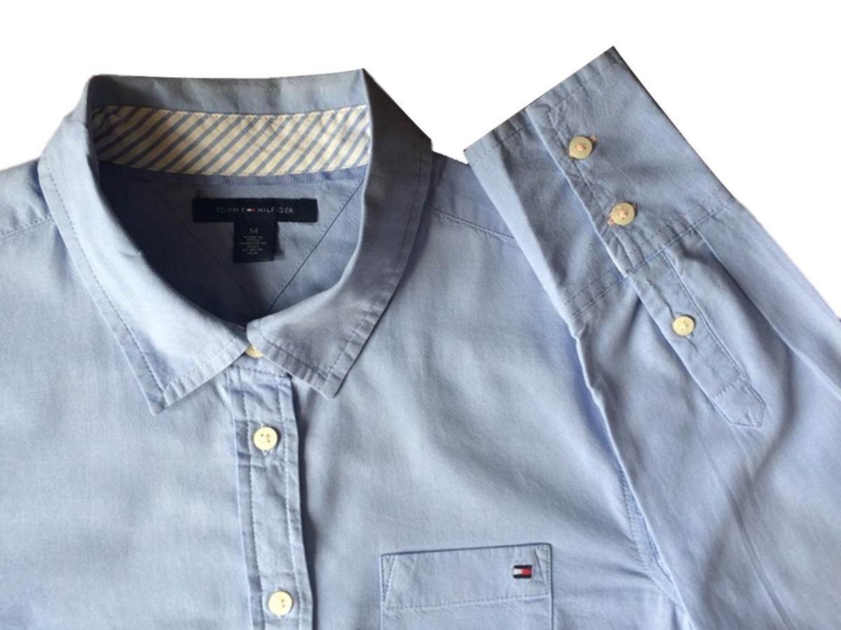 0f0f21fc1 tommy hilfiger camisa social feminina m original importada. Carregando zoom.