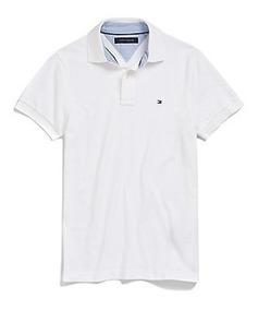 moda caliente venta al por mayor oficial Tommy Hilfiger Camisas Tipo Polo Lisas Envio Gratis