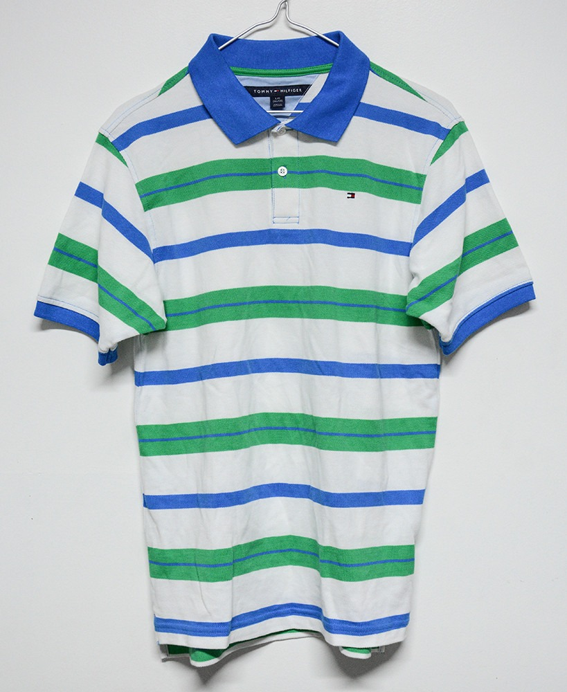tommy hilfiger camiseta con cuello polo talla niños l 16-18. Cargando zoom. ba47c2db74941