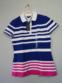 5383a9af2d64 Tommy Hilfiger Camiseta Tipo Polo Dama 100% Original