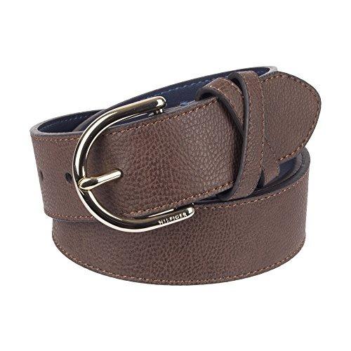 dfd8c15578bf Tommy Hilfiger - Cinturon De Punto Central, Para Mujer, D ...