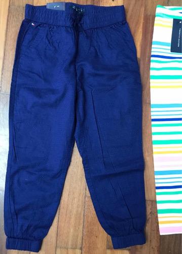 tommy hilfiger niña pantalon + leggins. talla 4-5añito