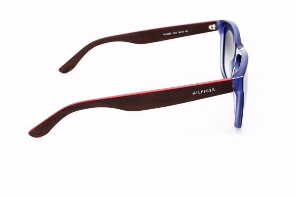 ... th 1243s - azul marrom vermelho · óculos sol tommy hilfiger · tommy  hilfiger óculos sol 9d297c3342
