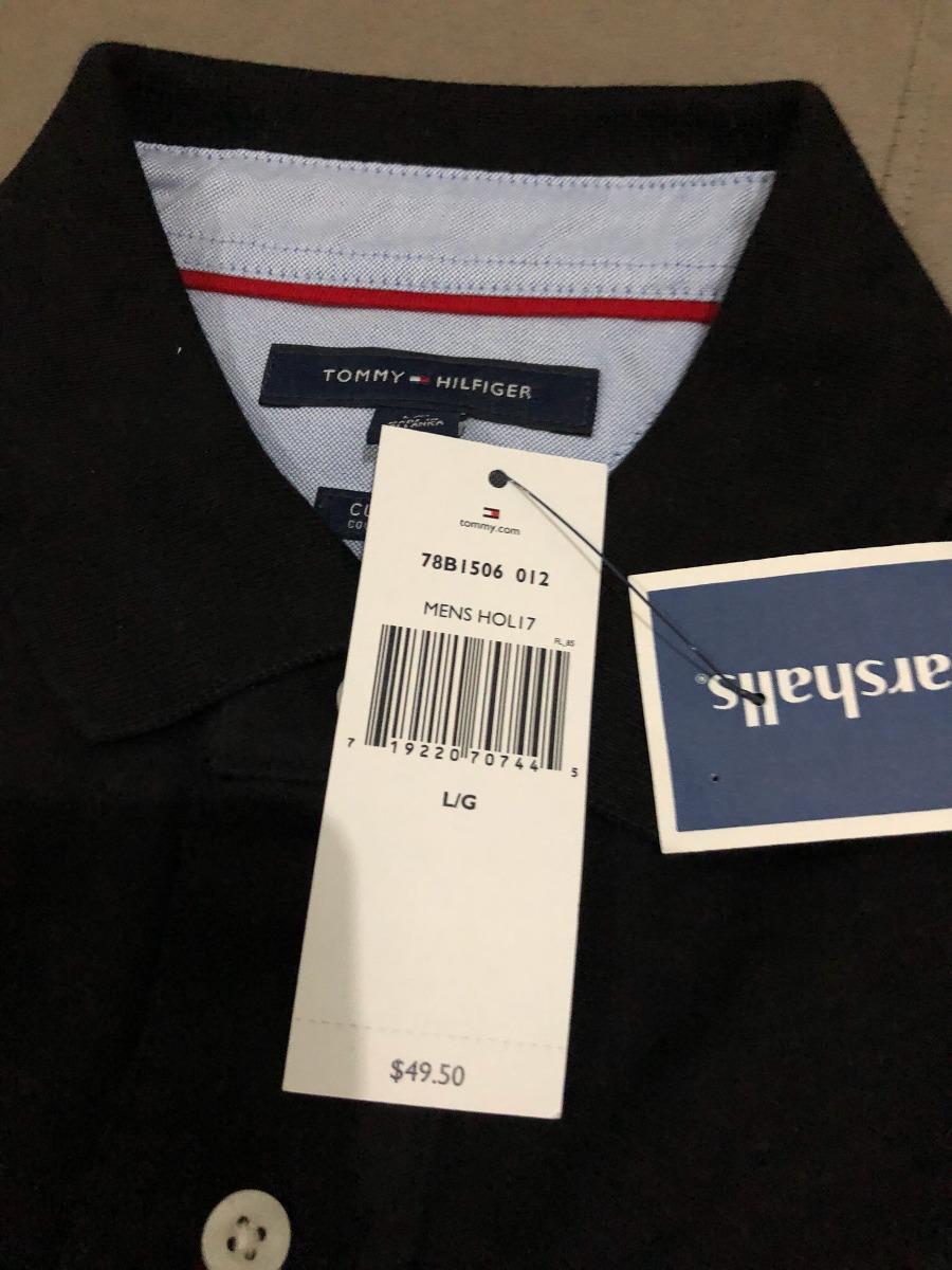 2c8f23b4a839 Tommy Hilfiger Original Camisa Polo Masculina - Preta - R  190 3774019776a31