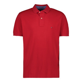 Tommy Hilfiger Polo Para Hombre Rojo Mod 0867802698-611