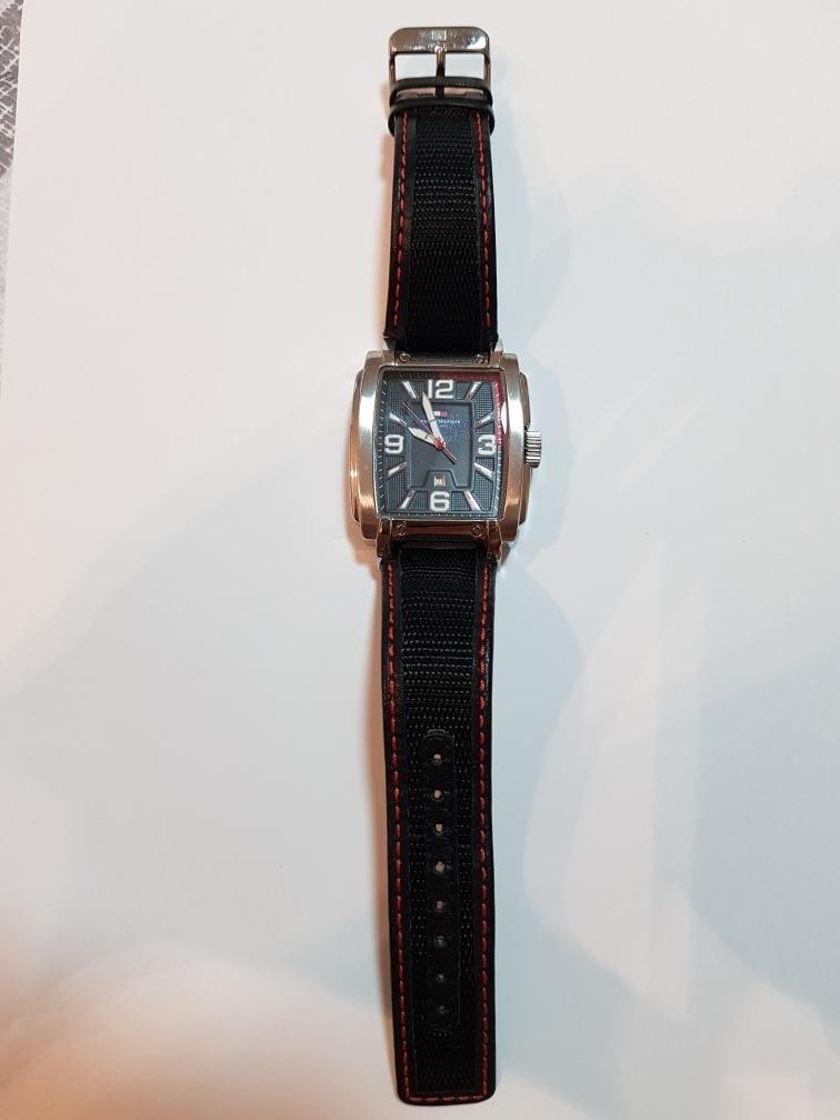 2fa192d3a14 Carregando zoom... relógio tommy hilfiger quadrado original