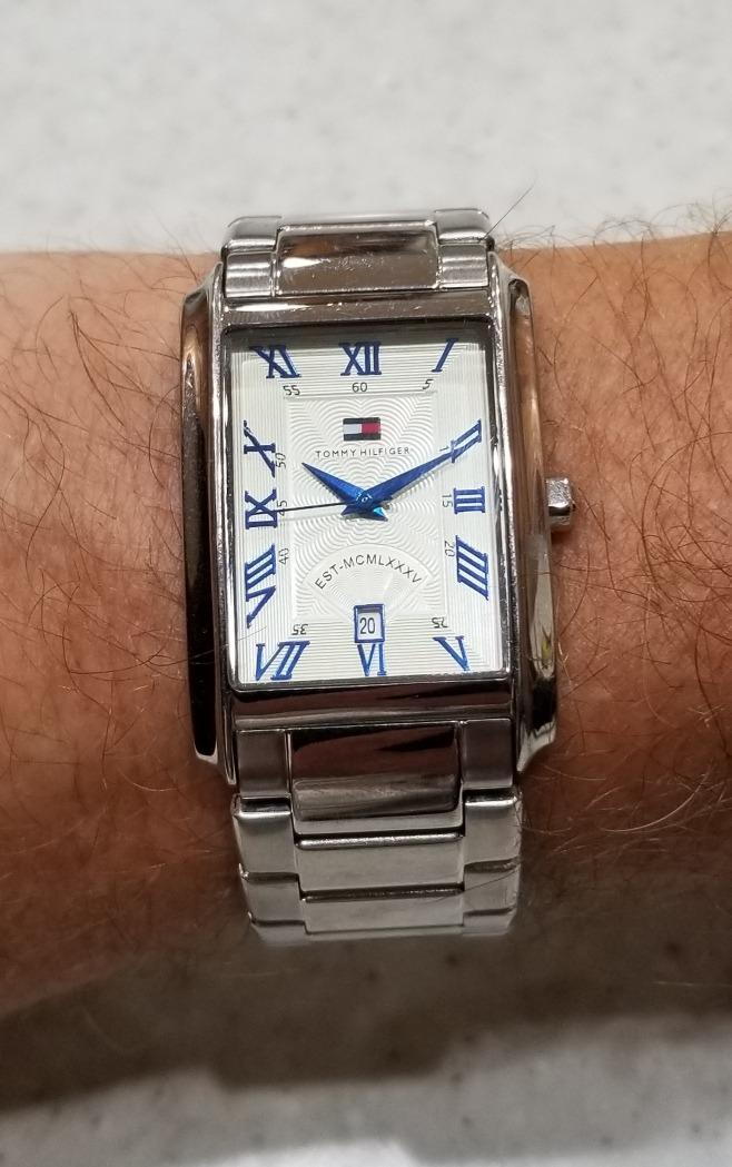 En Tommy De 000 00 Pulsera Hilfiger Usa3 Comprado Reloj Hombre Y7Ibfvy6g