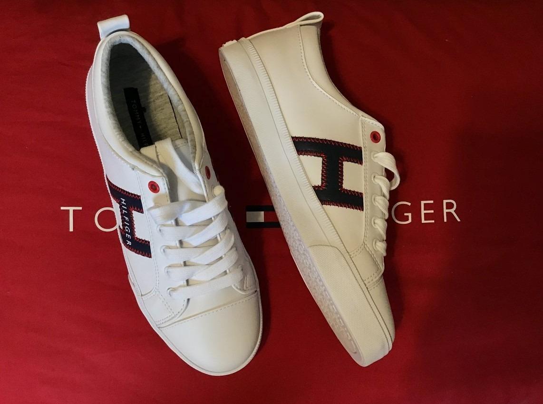 9368606a739 tommy hilfiger tenis para dama color blanco. Cargando zoom.