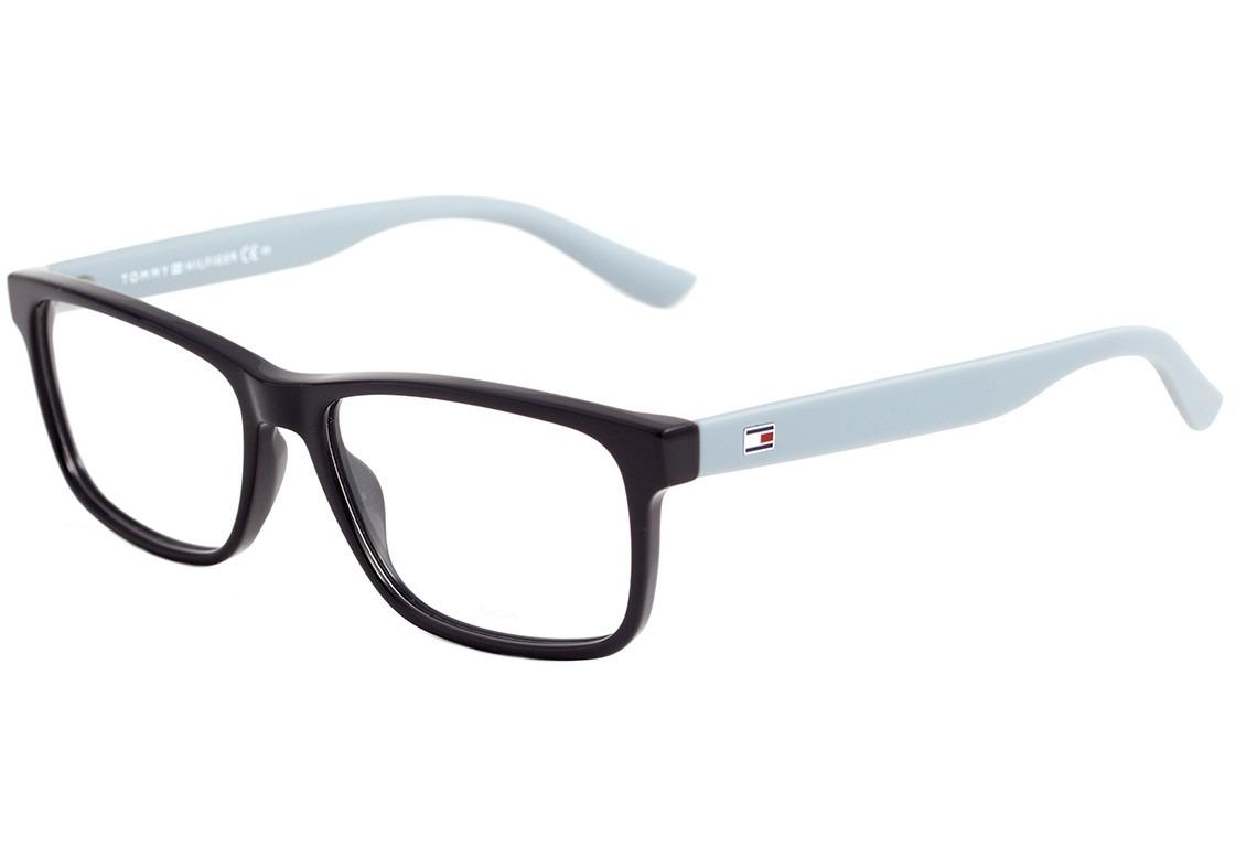 50dbafe2265e6 tommy hilfiger th 1419 - óculos de grau vyf cinza brilho e. Carregando zoom.